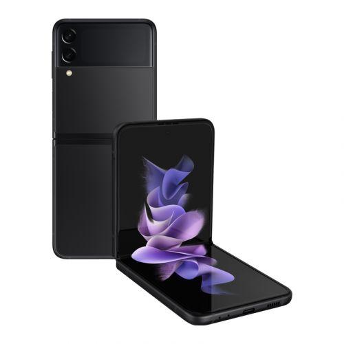 Samsung - Galaxy Z Flip3 5G-Phantom Black-128GB Factory Unlocked Global Carrier Network