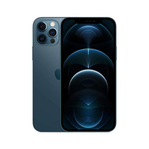 NEW Apple iPhone 12 Pro Max 6.7-Inch, CN Version Factory Unlocked, Global 5G Carrier No Warranty - Bright Star Resources-Pacific Blue-256GB
