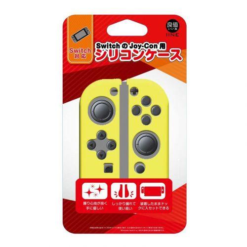 良値 IINE Nintendo Switch Joy-Con用 シリコンカバー セパレート [ イエロー ]