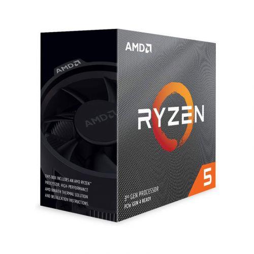 AMD Ryzen 5 3600 6-Core, 4.2 GHz 12-Thread Unlocked Desktop Processor with Wraith Stealth Cooler