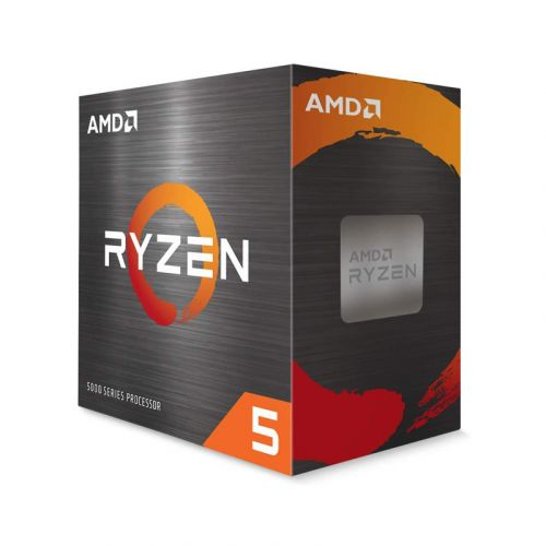 AMD Ryzen 5 5600X 3.7 GHz 6-core 12-Thread Unlocked Desktop Processor with Wraith Stealth Cooler