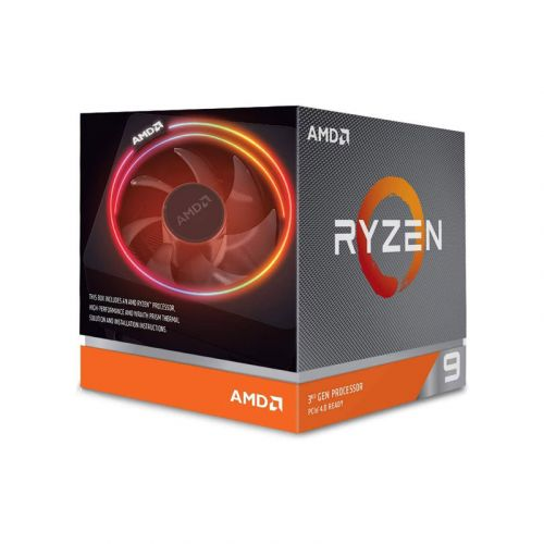 AMD Ryzen 9 3900X 3.8/4.6 GHz 12-core 24-thread unlocked desktop processor with Wraith Prism LED Cooler