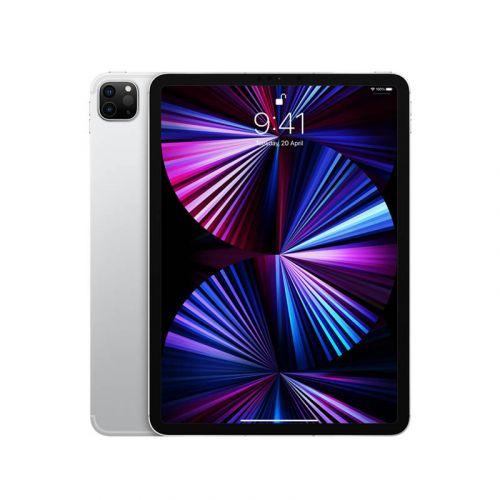 New Apple 11-inch iPad Pro M1 Chip (Wi‑Fi, 256GB) - Silver 2021 MHQV3CH/A