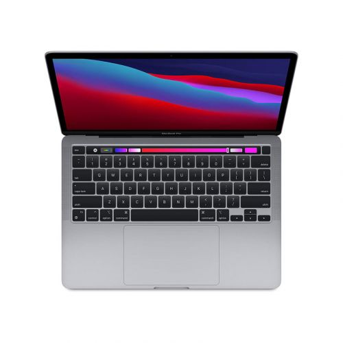 NEW Apple MacBook Pro 13-inch CN Version & M1 Chip RAM 8GB SSD 256GB Retina display with True Tone Touch Bar & ID - Space Gray