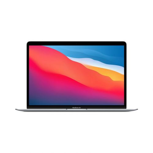 USED Apple MacBook Air 13-Inch CN Version M1 Chip 8-Core RAM 8GB 256GB Retina Display with True Tone, Touch ID- 2021-N93 Sliver