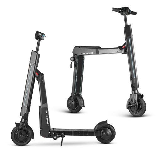 WW WWBETTER W - 007A Dual Use Electric Scooter Smart Folding Bike - Black