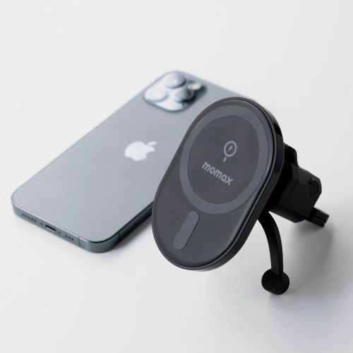 MOMAX Q. Mag Mount Magnetic Wireless Charging Car Mount CM17