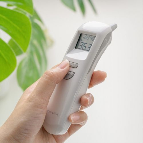 MOMAX 1-Health² Forehead/ Ear Thermometer