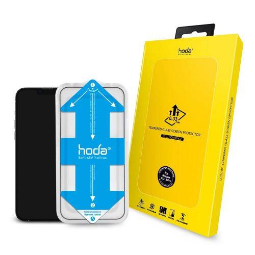 "Hoda iPhone 13 Series 0.33mm 2.5D Full Coverage Glass Screen Glass Screen Protector (5.4""/6.1""/6.7) with Helper  hoda®"