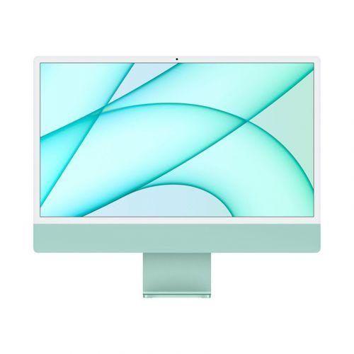 "24"" iMac® with Retina 4.5K display - Apple M1 - 8GB Memory - w/Touch ID (Latest Model) -Green-512GB"