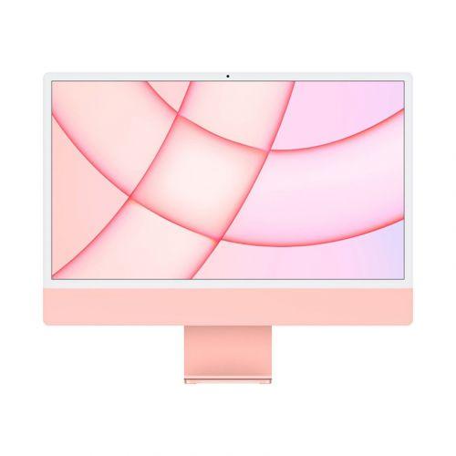 "24"" iMac® with Retina 4.5K display - Apple M1 - 8GB Memory - w/Touch ID (Latest Model) -Pink-256GB"