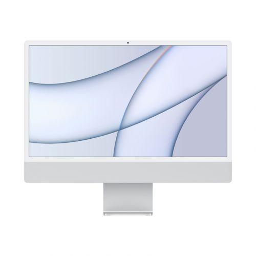 "24"" iMac® with Retina 4.5K display - Apple M1 - 8GB Memory - w/Touch ID (Latest Model) -Sliver-256GB"