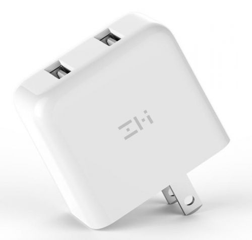 PowerPlug V2 Dual USB Fast-Charge Wall Charger