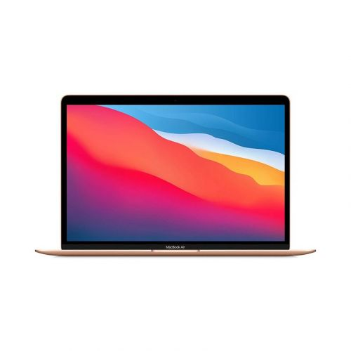NEW Apple MacBook Air 13-Inch CN Version M1 Chip 8-Core RAM 8GB 256GB Retina Display with True Tone, Touch ID- Gold 2021