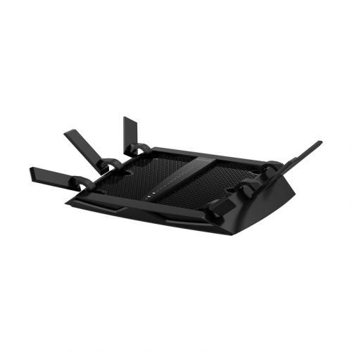 NETGEAR Nighthawk X6 Smart Wi-Fi Router (R8000) - AC3200 Tri-band Wireless Speed (Up to 3200 Mbps)   Up to 3500 Sq Ft Coverage & 50 Devices   4 x 1G Ethernet and 2 USB ports