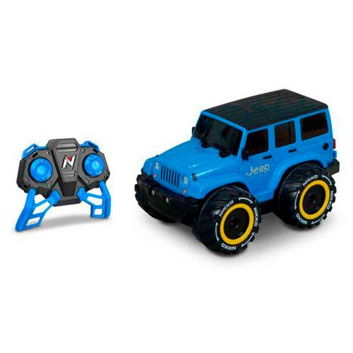 Nikko Jeep wrangler nano VaporizR - 2.4 GHz 8.5KM/H Remote Control Range 40M Multi-Player Maximum 10