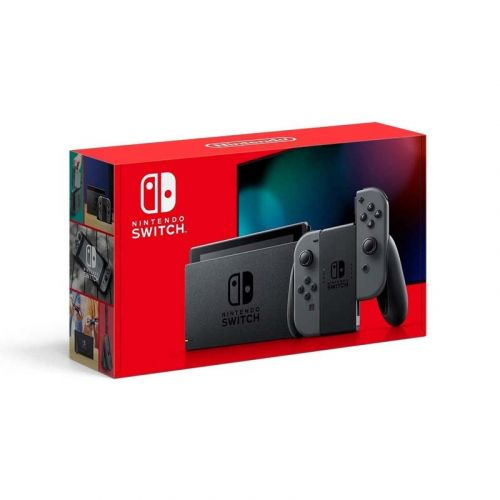 Nintendo Switch with Gray Joy‑Con - HAC-001(-01)
