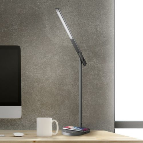 MOMAX Q.Led Desk lamp with wireless charging base (10W)
