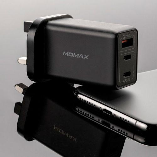 MOMAX One Plug 65W 3-Port GaN Charger - UM20
