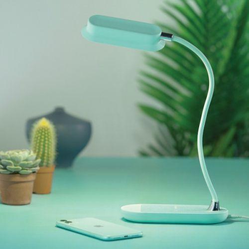MOMAX Q.Led Flex Mini lamp with Wireless Charging Base