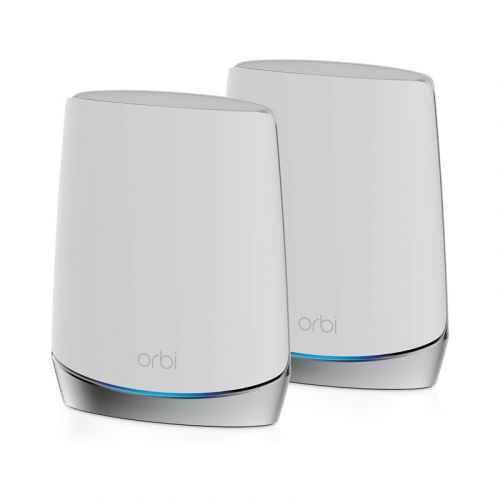 NETGEAR Orbi Whole Home Tri-band Mesh WiFi 6 System (RBK752) – Router with 1 Satellite Extender   Coverage up to 5,000 sq. ft. and 40+ Devices   AX4200 (Up to 4.2Gbps)