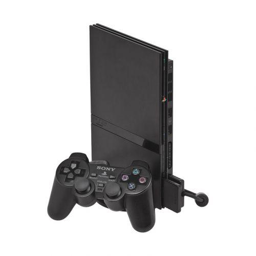USED SONY PlayStation 2 Slim Console Black