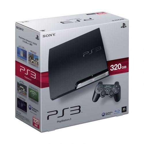 SONY PlayStation 3 HDD 320GB Console - Charcoal Black Unlocked
