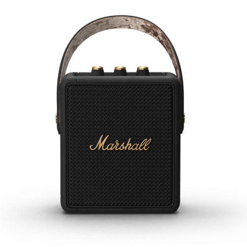 Marshall STOCKWELL II Protable Bluetoothe Speaker - 2021 NEW-Black & Brass