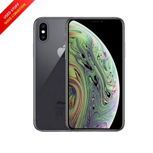 USED Apple iPhone Xs 64GB 5.85-Inches Factory Unlocked, Global Carrier Gold, Black, Sliver