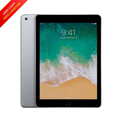 USED Apple iPad 5 Cellular + WLAN 32GB 9.7-Inches - Black, Sliver (5th Generation)