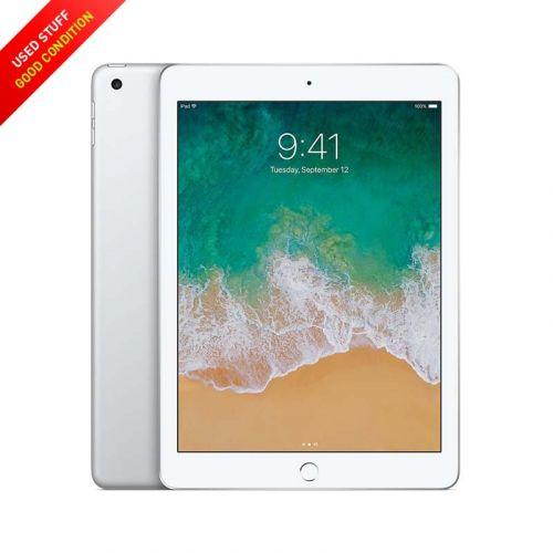 USED Apple iPad 9.7-Inches WLAN 128GB - Black, Sliver 2017 Model (5th Generation)