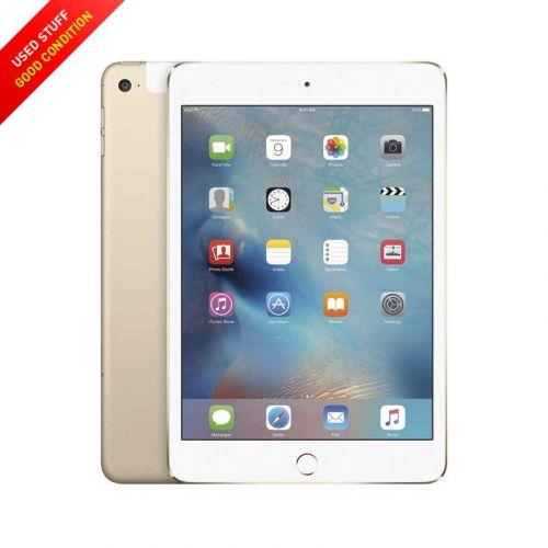 USED Apple iPad mini 4 WLAN 128GB 7.9-Inches, Black, Sliver, Gold