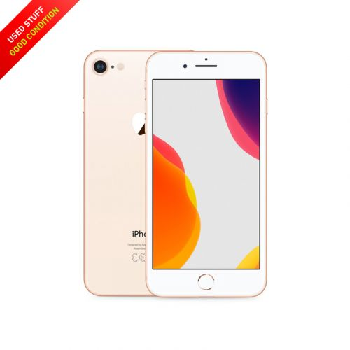 USED Apple iPhone 8 64GB Unlocked Gold, Black, Sliver