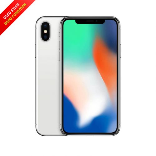 USED Apple iPhone X 64GB  Factory Unlocked, Global Carrier, Sliver & Black