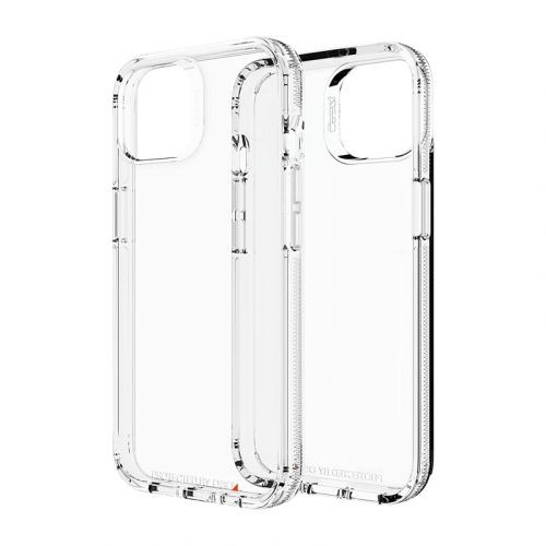 ZAGG ISOD Crystal Palace Clear Case with Advanced Impact Protection, Slim, Tough Design for Apple iPhone 13 – Clear