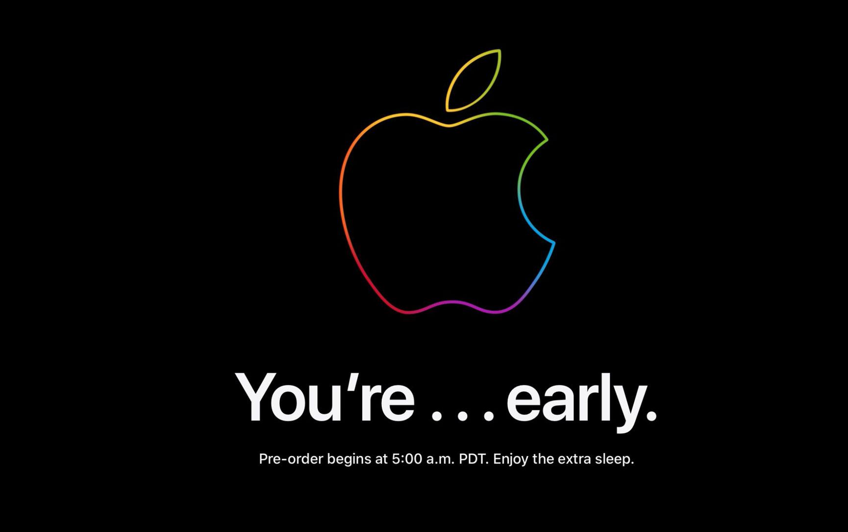 Apple Store is down ahead of iPhone 13 preorders