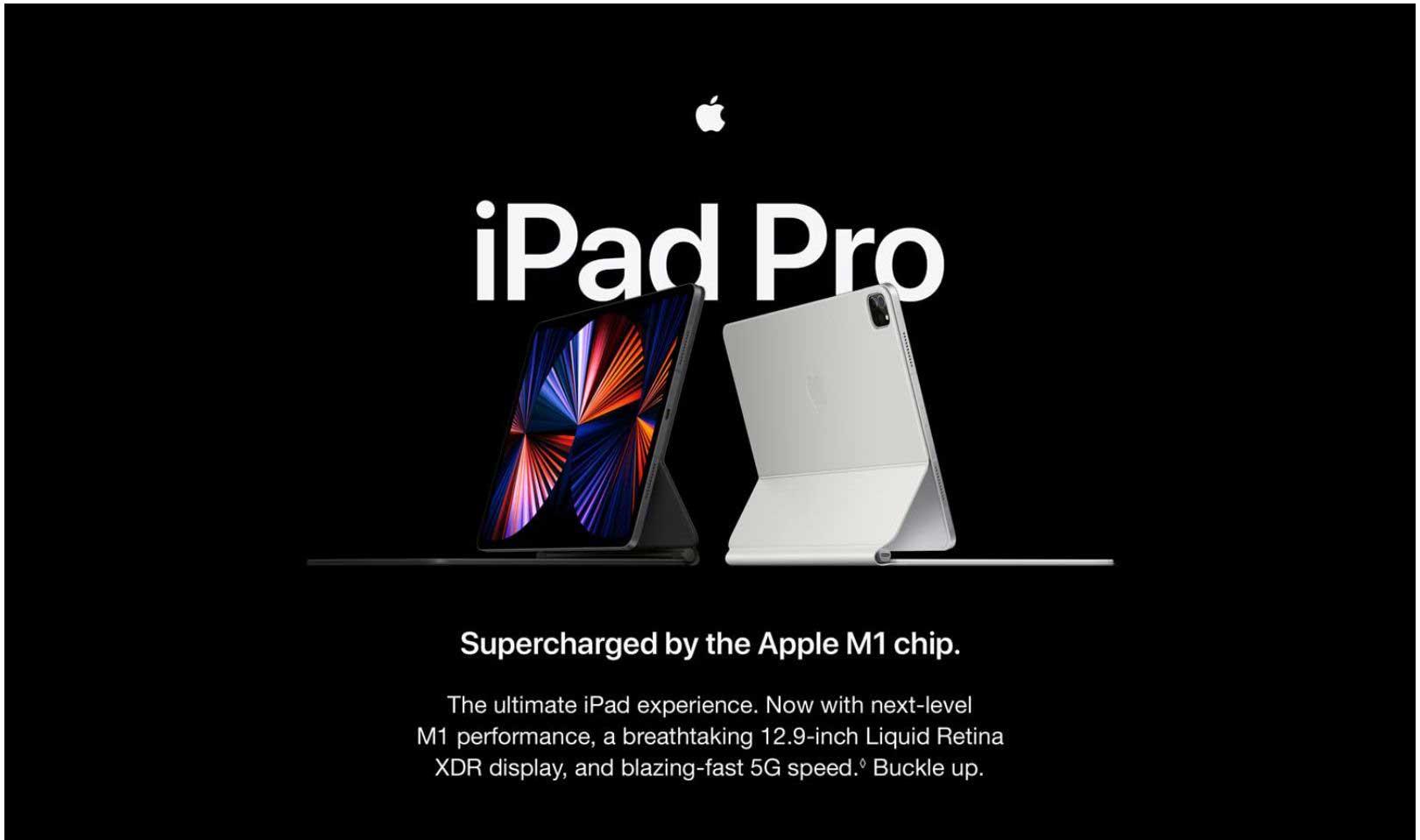 New Apple 11-inch iPad Pro M1 Chip (Wi‑Fi, 512GB) - Silver ...